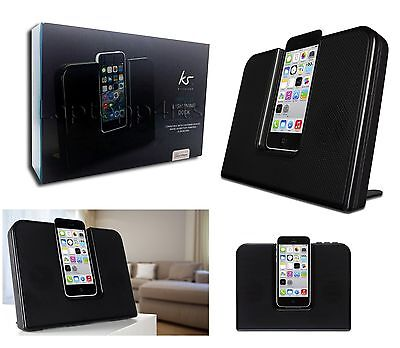 NEW KitSound Impulse Speaker Dock With Lightning Connector For iPhone 5/5S/5C