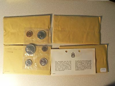 1970 Canadian Mint Set--6 Coins  Proof Like Set -- Non Silver       4 available
