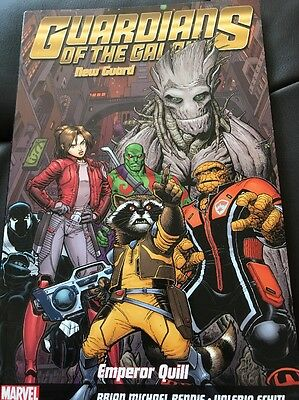 Guardians Of The Galaxy. Emperor Quill. Marvel Graphic Novel New