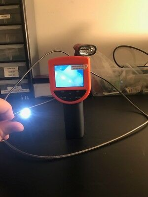 4mm 2m Portable Inspection Camera Video Probe Borescope