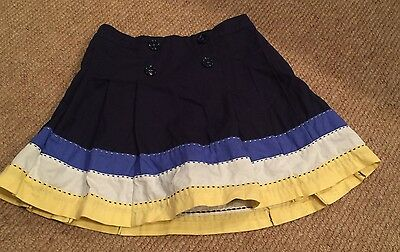 girls size 6 Gymboree skort/ skirt - Navy