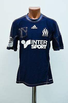 Olympique Marseille France 2014/2015 Away Football Shirt Jersey Maglia Adidas