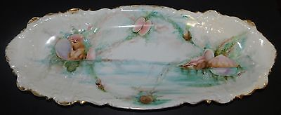 Antique large platter by Elite Limoges hand-painted made in France