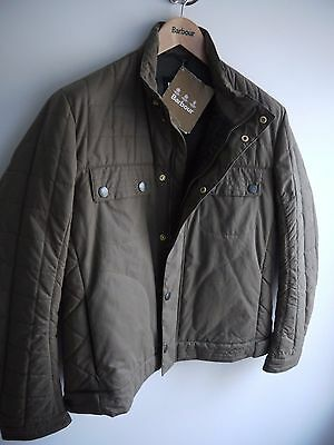 Barbour Deus Ex Machina Bayswater Quilt Jacket, New With Tags Large, Sandstone