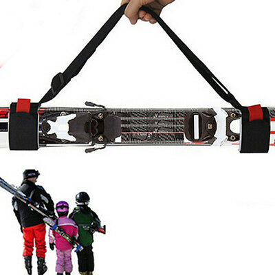 New Unisex Adjustable Ski Carrier Ski Shoulder Carry Strap Belt Sling Skiboard