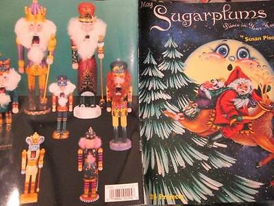 May Sugarplums Dance In Your Head Painting Book-Pisoni-Nutcrackers/Fairies/Santa