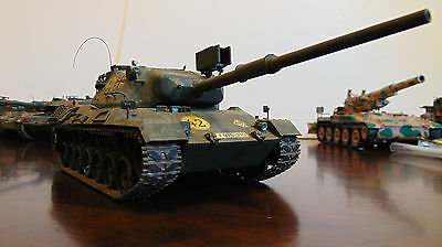 Nicely BUILT - German Leopard 1 Medium Tank Model 1/35th scale