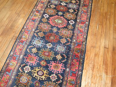 Antique Persian Malayer Rug Runner Size 3'x20'4''