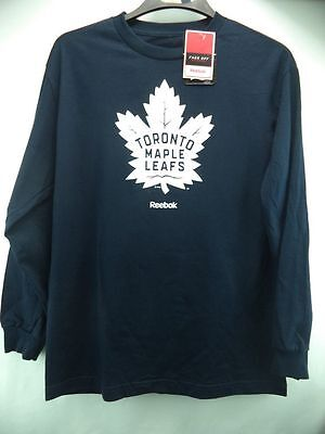 NHL Toronto Maple Leafs Longsleeve Ice Hockey Shirt Jersey Top