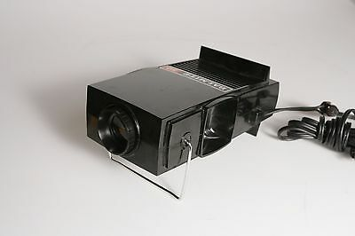 Vintage Bausch & Lomb Balmite 50 Slide Projector  2x2 & 35mm Film 50W USA