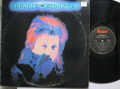 Rock Lp Aldo Nova Subject...Aldo Nova On Portrait