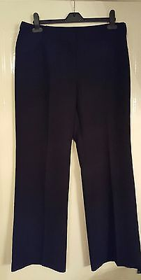 Next Black Maternity trousers size 10 work