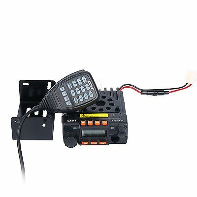 QYT KT-8900 Dual-Band 25W VHF UHF Car/Trunk Ham Mobile Transceiver Two Way Radio