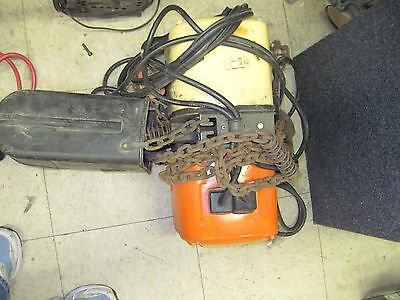 Jet Electric Chain Hoist made by Hitachi model 1/2 RS-3
