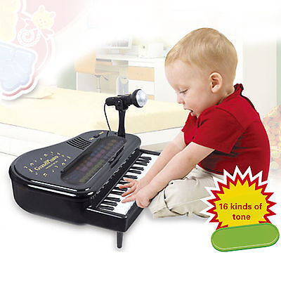 Kids Children 32 Key Electronic Keyboard Piano Multi Musical Toy Records