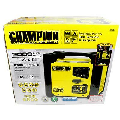 New Champion 1700W Portable Inverter Generator (73536i) Local Pick-Up Only