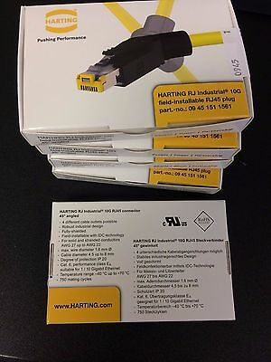 NEW!!! 09451511561 Harting Modular / Ethernet Connectors