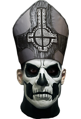 Ghost Papa II Deluxe Mask B.C. Trick or Treat Studios Official licensed WITH TAG