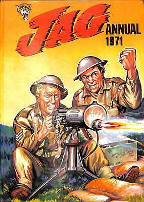 Jag Annual 1971 (IPC, First Edition), Good Condition Book, Various, ISBN