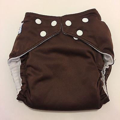 Fuzzibunz One Size Elite Pocket Cloth Diaper Adjustable With 2 Inserts (A11)