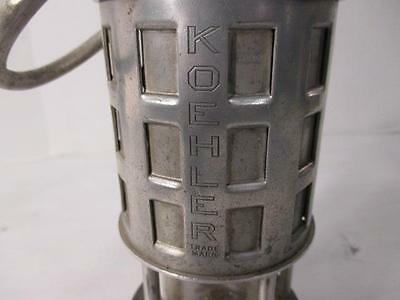 #063561 Koehler miners oil lamp safety lamp