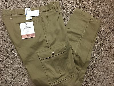 """NWT Men's Dockers """"The Broken In"""" Athletic Fit Stretch Cargo Pants 32X32 MSRP$58"""
