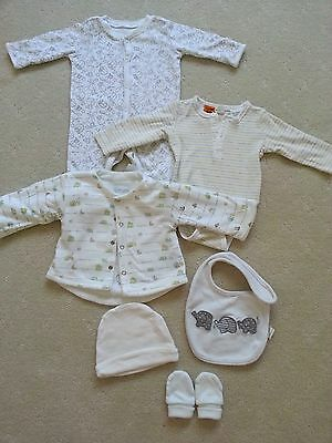 Pre-Loved! Neutral Baby Winter Bundle, Size 000, 6 items in Excellent Condition!
