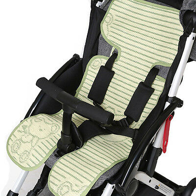 Summer Baby Seat Pad / Liner for Stroller Pram -Bamboo Car Seat Cushion Mat