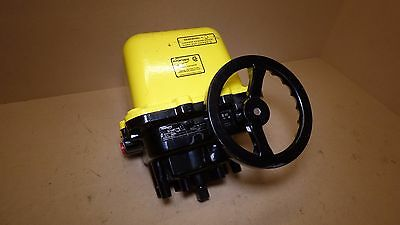 Flowserve Series 75 Electric Valve Actuator 120 Volt   1,800 In Lbs Worcester