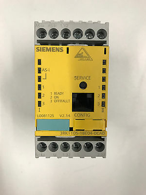 Siemens 3RK1105-1BE04-0CA0 AS-I Safety Monitor free ship!