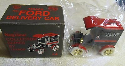 ERTL 1987 Die Cast Nostalgic Series By Texaco 1905 Ford Delivery Car Coin Bank 4