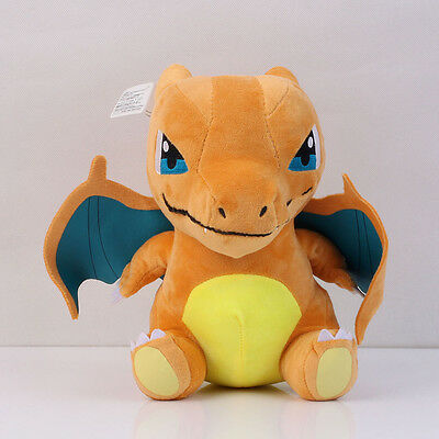 Pokemon Center XY Mega Charizard Lizardon Plush Doll Toy 006 Pocket Monster 8""