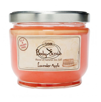 Sabon Body Scrub LARGE 21.2 / 600 (BEST SELLER) with FREE WOODEN SCOOP