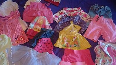 Baby girls size 12-18 months mixed clothing LOT