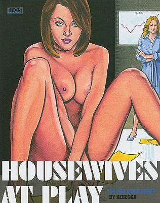 HOUSEWIVES AT PLAY DO YOU WORK HERE GN,PB,Rebecca - NEW