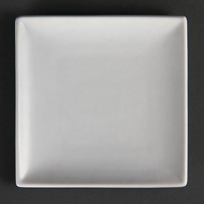 12 X Olympia Whiteware Square Plates Serving Kitchen Tableware Restaurant