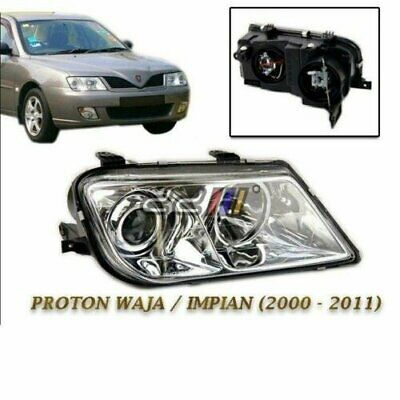 Right Side Glasses Head Lights HeadLamp Head Lamps Proton Waja Impian Chancellor
