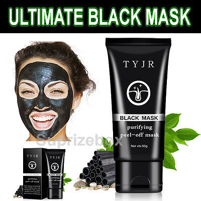 Purifying Cleansing Black Mask Blackhead Acne Deep Suction Peel-Off Face Mask