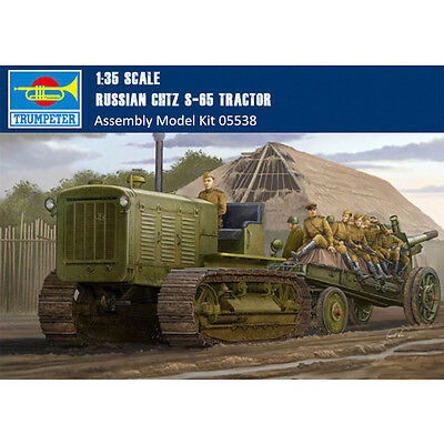 Trumpeter 05538 1/35 Scale Russian ChTZ S-65 Tractor Plastic Assembly Model Kits