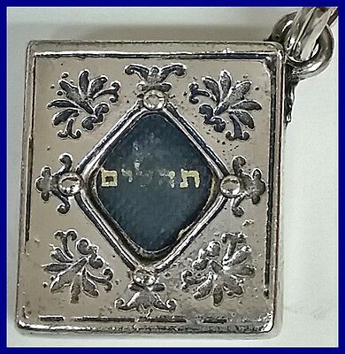 The Book of Psalms the third section of the Hebrew Bible key chain
