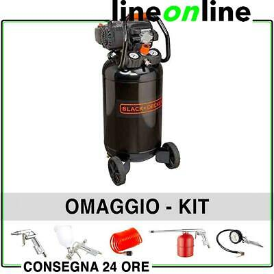 Compressore aria 50 lt Black and Decker BD 227/50V-NK