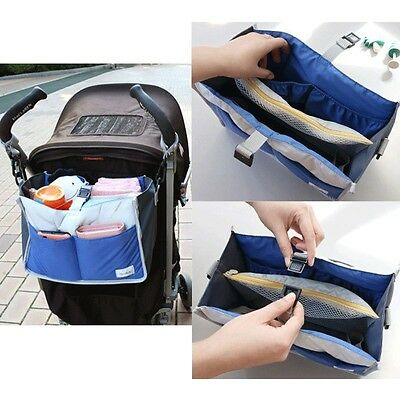 Baby Stroller Pram Buggy Puschair Hanging Nappy Diaper Changing Bag Organizer