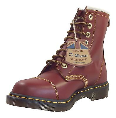 Dr Martens Unisex Capper Made In England Leather 8 Eye Ankle Boots