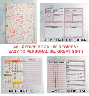 RECIPE NOTES ANY DIET, ALL YOUR FAVOURITE, RECORD, Slimming World Compatible