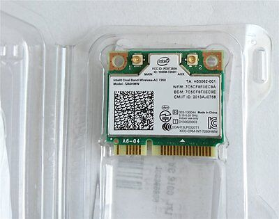 Intel Dual Band Wireless-AC 7260 Netzwerkadapter plus Bluetooth Modul, Retoure