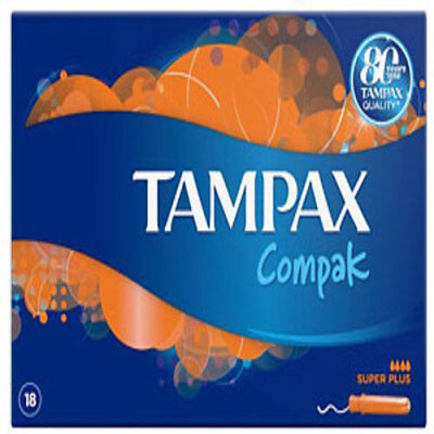 Tampax Compak Applicator Tampons Super Plus (20)
