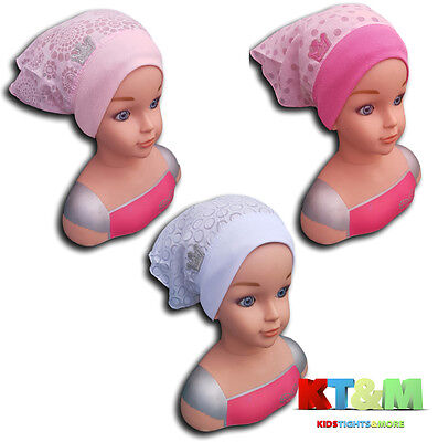 New Baby Girl Summer Cotton Beach Holiday Hat Cap Head Scarf  6-18 Months Crown