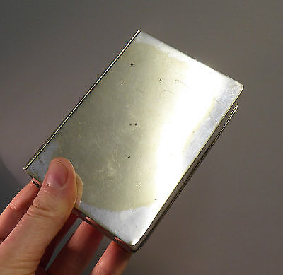 Antique Silver Plate Sandwich Box HJ&Co - Edwardian Hunting Horse Riding