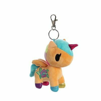 Cute Unicorno by Tokidoki plush keyring bag charm KAILI
