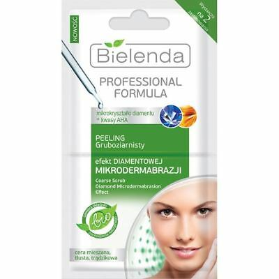 Bielenda Coarse Grain Scrub Diamond Microdermabrasion Effect 2x5g